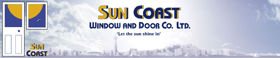 Welcome To Suncoast Window Door A Toronto And